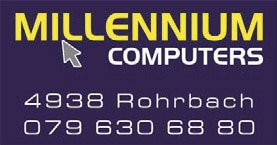 millennium computers logo